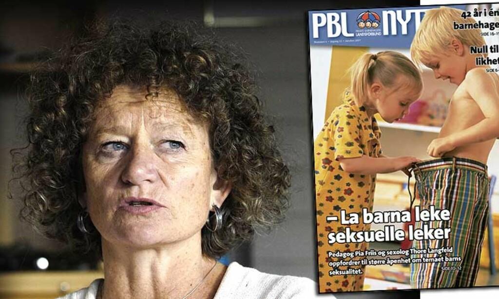 LAR DEM UTFORSKE: Pia Friis svarer på dine spørsmål klokken 10.00. Send inn spørsmål nå! Foto: John Terje Pedersen/Dagbladet