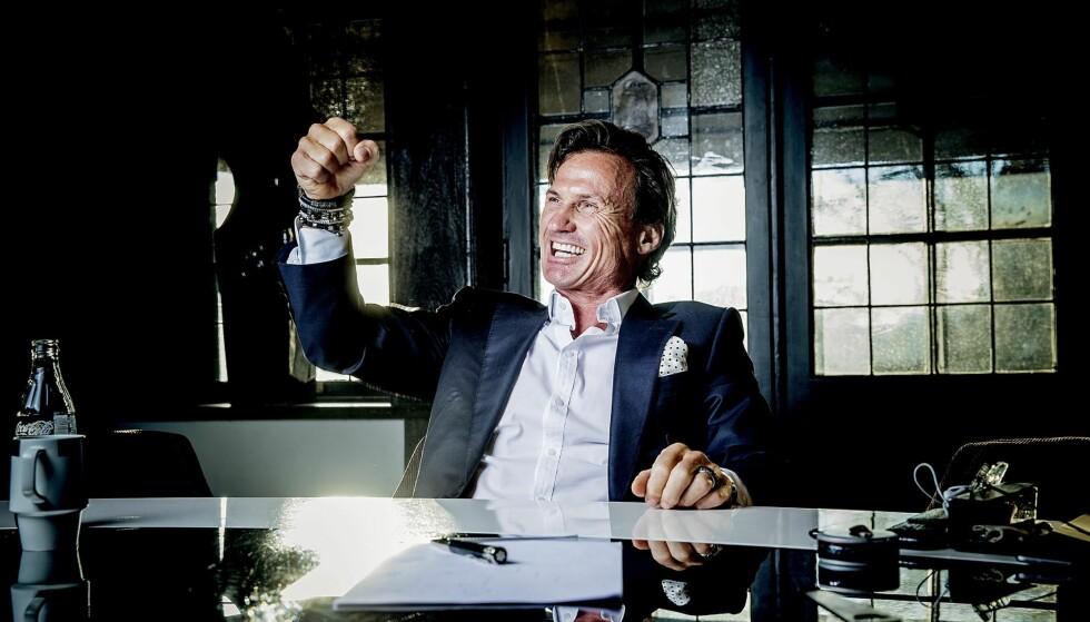 Den bærekraftige mannen: Penger betyr frihet for Petter Stordalen, mannen som har tro på at han kan redde verden. Foto: Bjørn Langsem