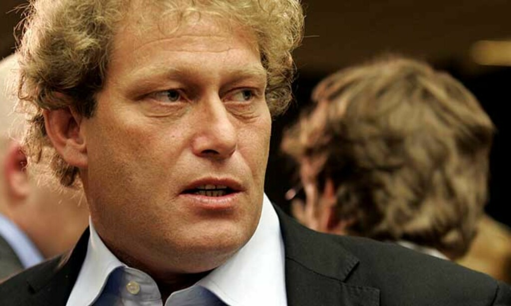 KRITISERER GREENPEACE: - Går kull- og atomindustriens ærend, mener Fredrik Hauge. Foro: Scanpix