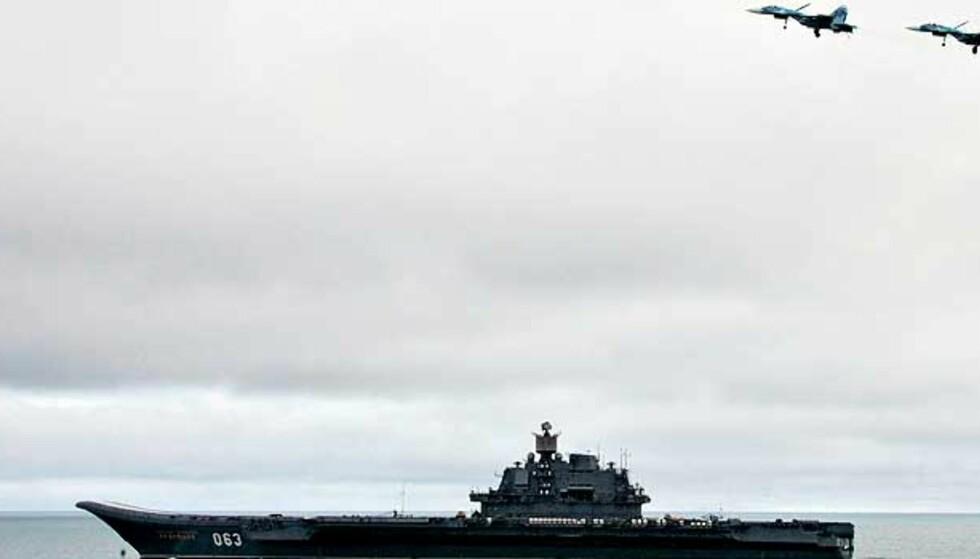 Russiske jagerfly lager kaos i Nordsjøen