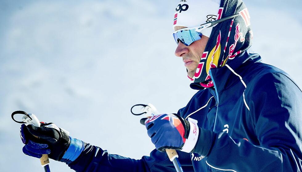 TRENTE FOR HARDT: Petter Northug gikk på en smell og trente for hardt etter det siste høydeoppholdet. Foto: Bjørn Langsem / Dagbladet