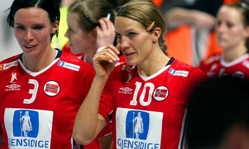 FINALETAP: Håndballjentene får 40000 kroner hver for VM-sølvet, imot 85000 for et eventuelt VM-gull. Foto: Håkon Mosvold Larsen/Scanpix