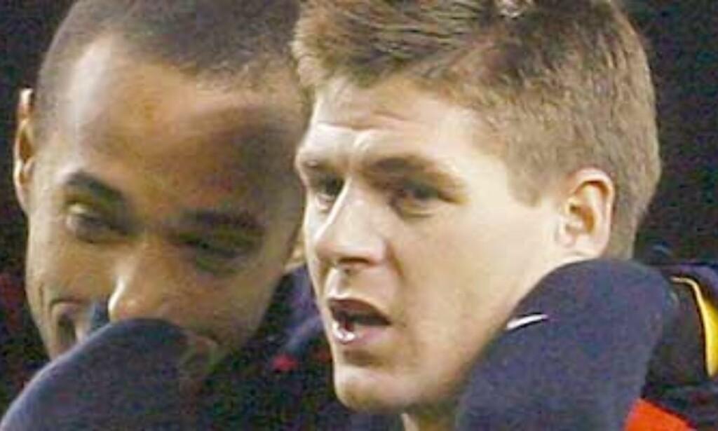 Gerrard ba Henry komme til Anfield