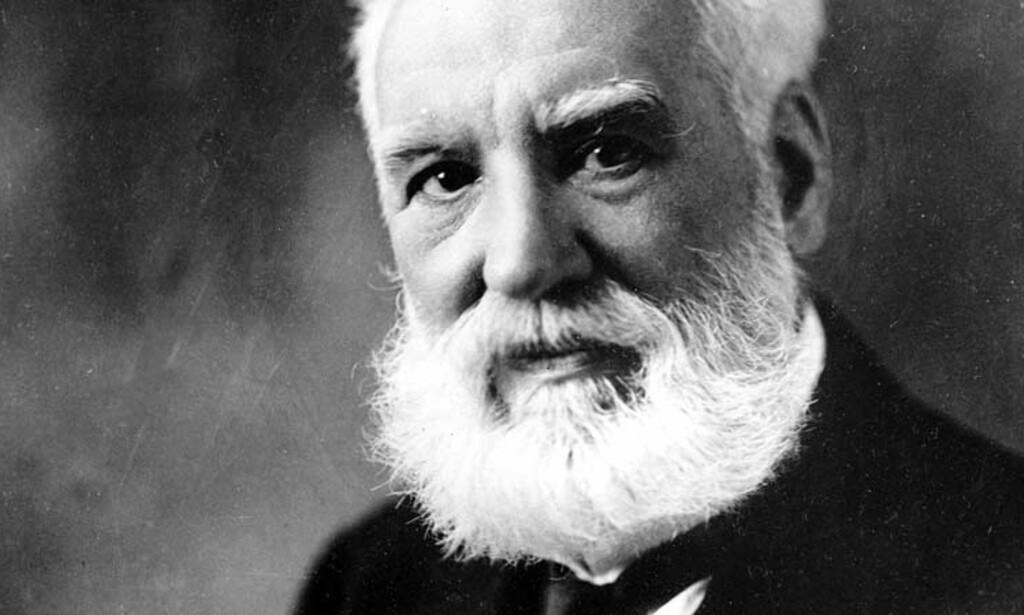 KANSKJE IKKE TELEFONENS FAR: Alexander Graham Bell. Foto: AP/SCANPIX