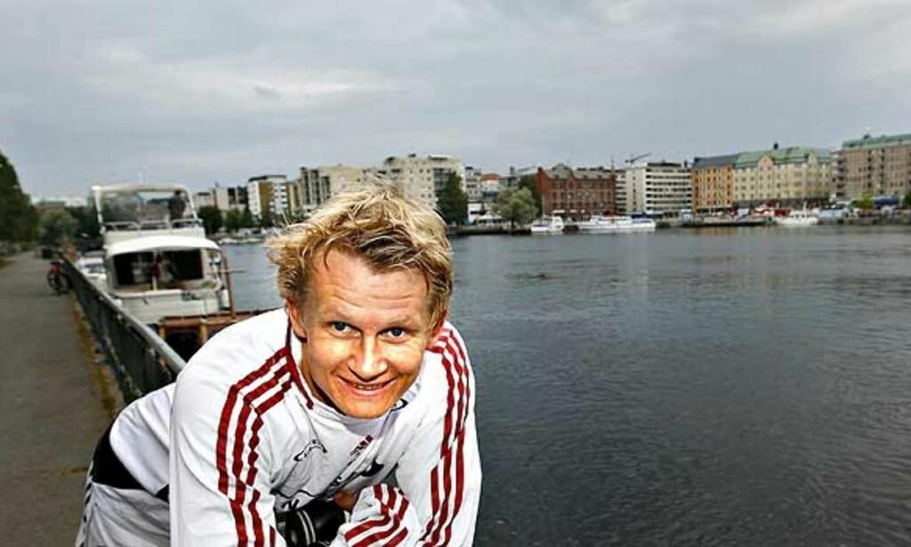 BLIR BOK: Til høsten kommer trolig boka om Steffen Iversen ut. Foto: Arnt E. Folvik