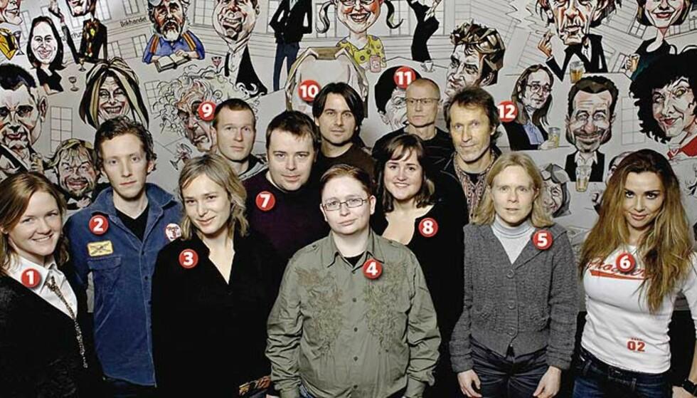 DEBUTANTSLIPP: Hilde Ringen Kommedal (31, 1), Lars Petter Sveen (26, 2), Kari Stai (33, 3), Tarald Stein (30, 4), Tina Sandmoe (36, 5), Alexia Bohwim (38, 6), Ronnie M.A.G. Larsen (37, 7), Hedda Robertsen (20, 8), Jørgen Krog (28, 9), Birger Baug (38, 10), Leif Henriksen (52, 11) og Jan Knudsen (50, 12). Foto: Lars Eivind Bones