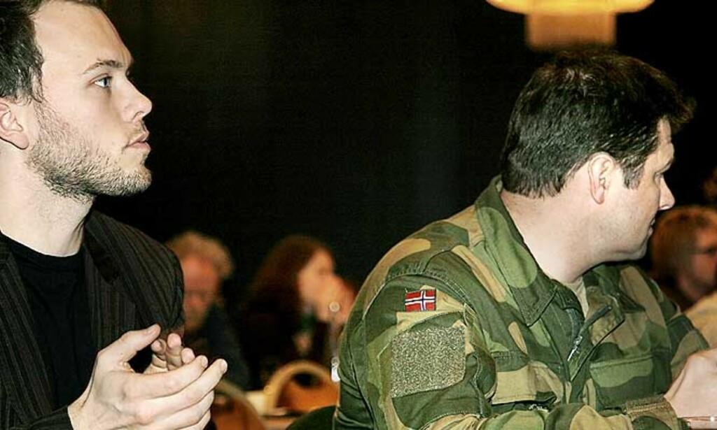 - NATO MÅ GI OPP EN MILITÆR SEIER: SVs nestleder Audun Lysbakken håper at Nato stopper den offensive krigføringen, og heller lar FN starte en fredsprosess sammen med Taliban. Foto: Jacques Hvistendahl
