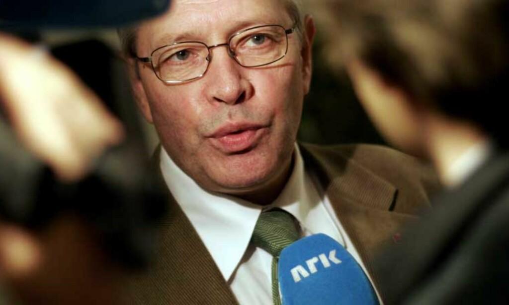 FORBANNA: Arbeiderpartiets partisekretær Martin Kolberg reagerer på at han ikke er blitt kontaktet forut for det han kaller ryktespredning fra NRKs side. Foto: JARL FR. ERICHSEN/SCANPIX