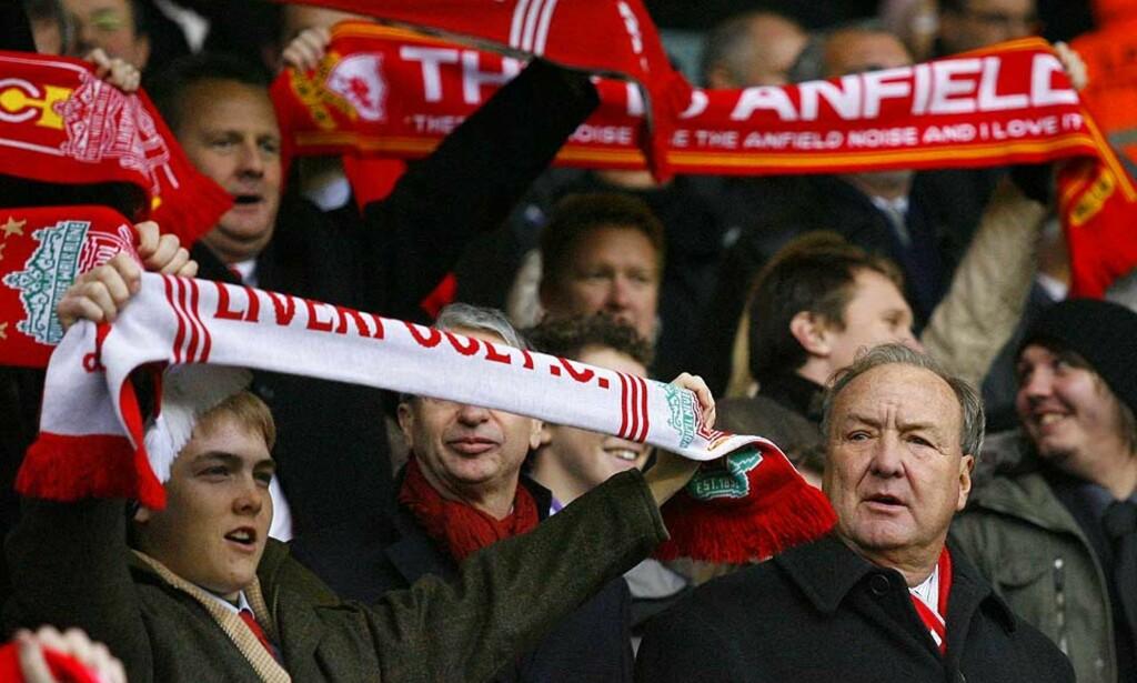 UPOPULÆR: Tom Hicks eier Liverpool sammen med George Gillett, og er en av byens minst populære menn. Foto: AP