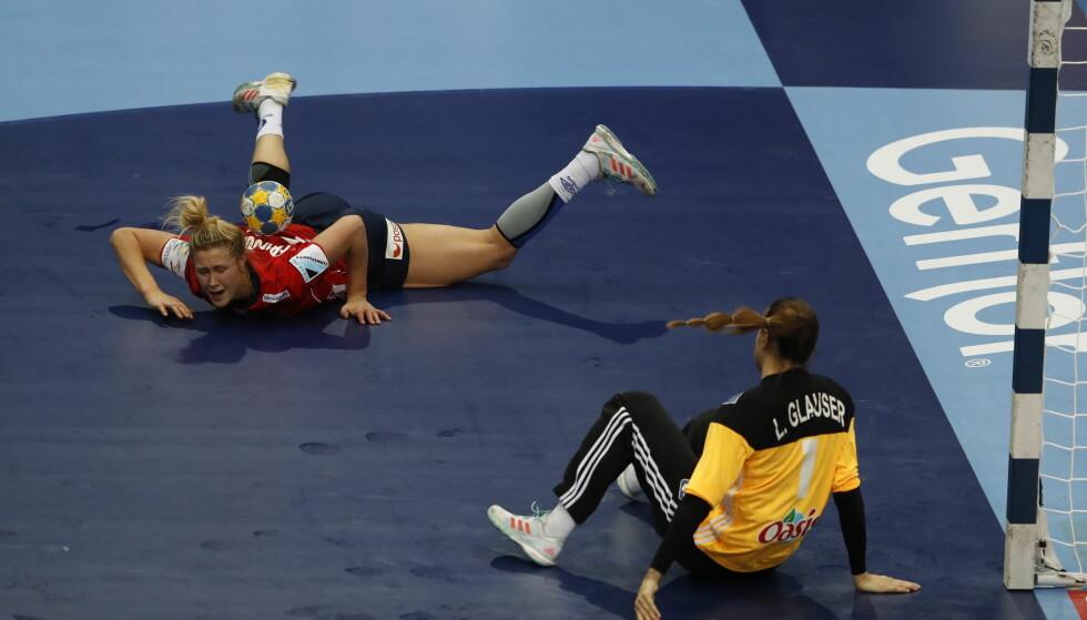 NORSK SEIER: Norge er klar for EM-finale etter seier mot Frankrike i semien.