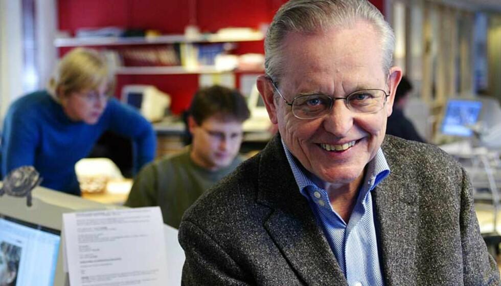 KOMMENTATOR-DEBATTEN:Arne Strand (over)forsvarer Kyrre Nakkim i debatten om politisk journalistikk. Arne Ove Bergo/Dagsavisen