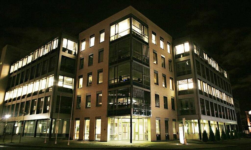 DÅRLIG LØNNSOMHET: All administrativ drift av selskapet Midelfart Sonesson AS flyttes hit til hovedkvarteret i Drammensveien 134 på Skøyen i Oslo som et ledd i kostnadskuttet. Foto: FRANK KARLSEN