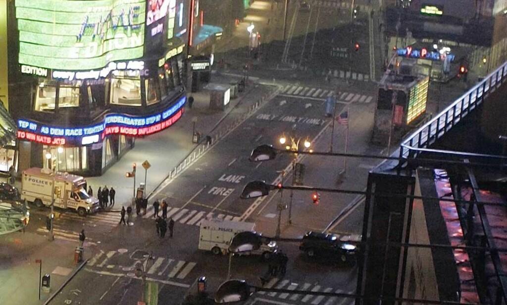 BREV: En brevskriver tar på seg skylden for bomben på Times Square. Foto: RICHARD DREW/AP