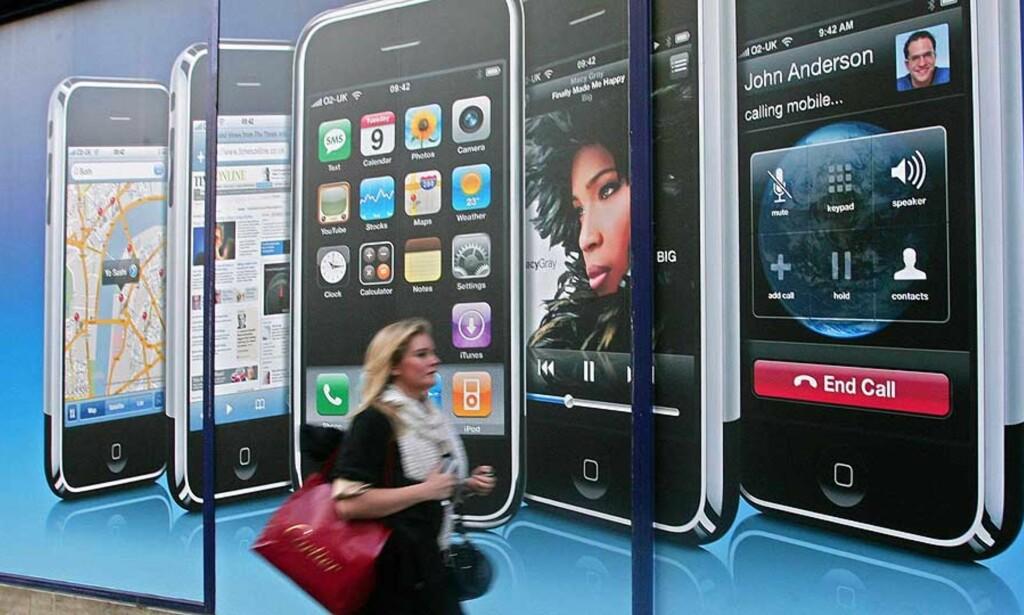 NYE MODELLER: Apple vil tilby nye måter å kjøpe musikk på. Nå krangles det om pris. Foto: SCANPIX/AFP