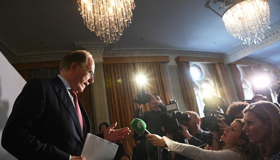 PLUTSELIG FART PÅ DOMMERNE: Den andre rapporten om russisk statsdoping fra Richard McLaren har presset idrettslederne til å reagere. Nå ventes raske utestengelser. FOTO.  EPA/Facundo Arrizabalaga.
