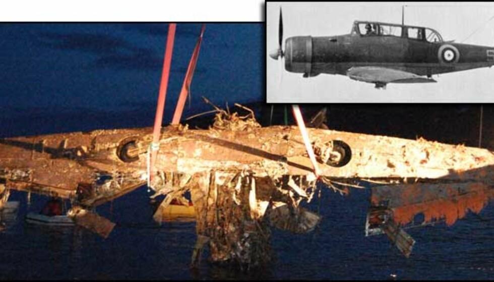 Her er det siste Blackburn Skua-flyet i verden