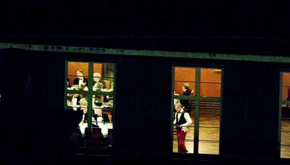 Eksklusivt: Rederiforbundets festsal i Rådhusgata i Oslo er rammen når medlemmene i Norsk Anchorite Klubb møtes til sine eksklusive middagsselskaper.
