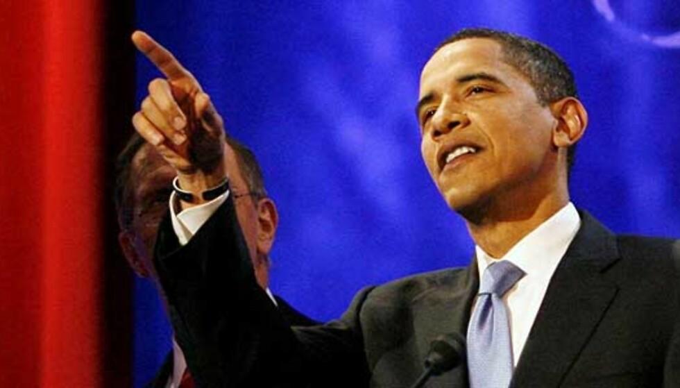 - Obama har størst sjanse for å vinne presidentvalget