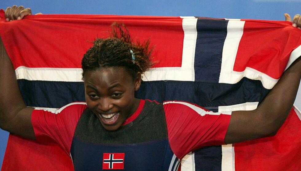 FLAGGBÆRER: Ruth Kasirye blir flaggbærer for Norge i Beijing OL \'08. Foto: SCANPIX