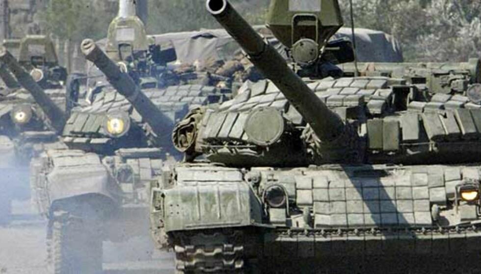 Russland bryter våpenhvilen