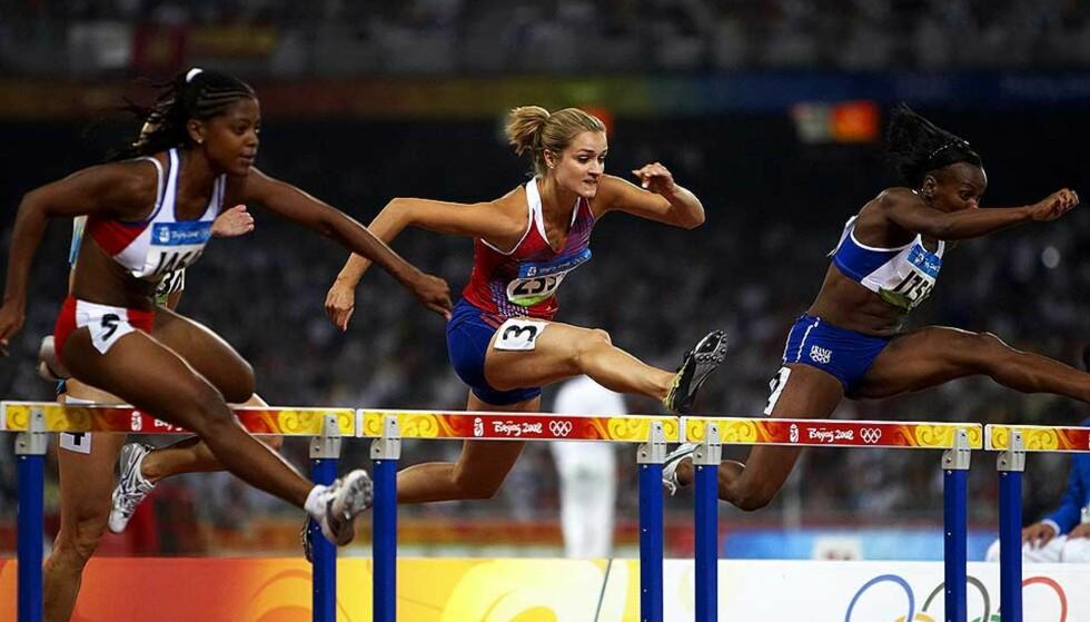 NY REKORD: Christina Vukicevic løp inn til ny personlig rekord, men hun ble likevel slått ut i OL-forsøket. Foto: SCANPIX