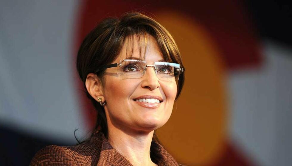 INGEN MUSIKERCRED: Hvorfor er det ingen musikere som vil la republikanerne bruke låtene deres? Denne gangen er det Sarah Palin det går ut over. Foto: SCANPIX/AFP