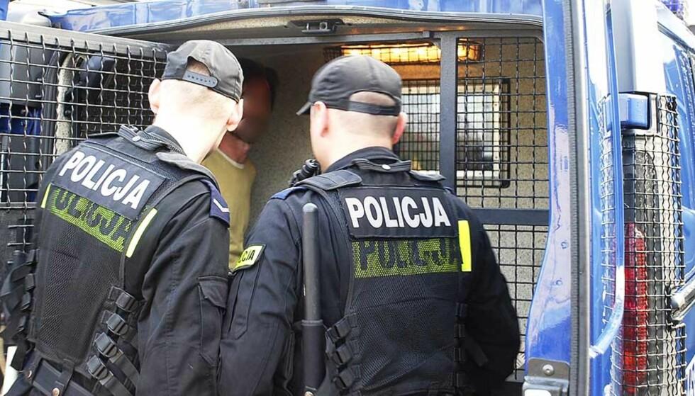 ARRESTERT: Mannen ble pågrepet da han forsøkte å flykte til Italia. Foto: POLITIET/REUTERS/Scanpix