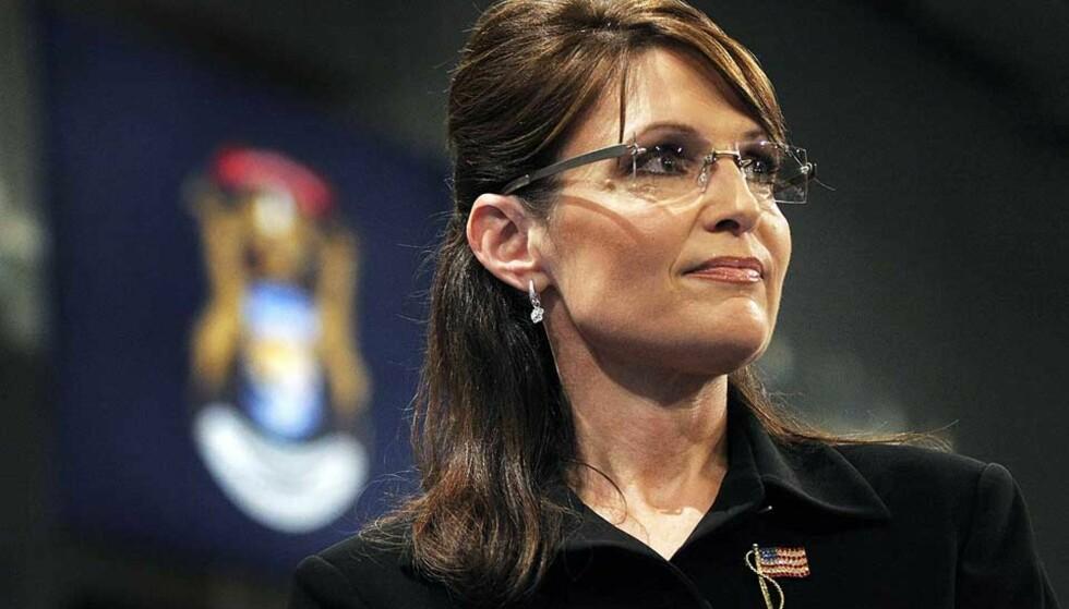 OMSTRIDT: Visepresidentkandidat Sarah Palin har fått kritikk fordi hun angivelig bruker e-posten til offentlig korrespondanse. Foto: BILL PUGLIANO/GETTY IMAGES/AFP/SCANPIX