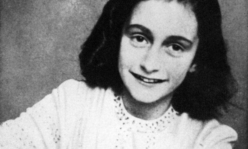 HEMMELIGE SIDER: Innholdet på de to sidene i Anne Franks verdenskjente dagbok er nå avslørt. Foto: NTB Scanpix