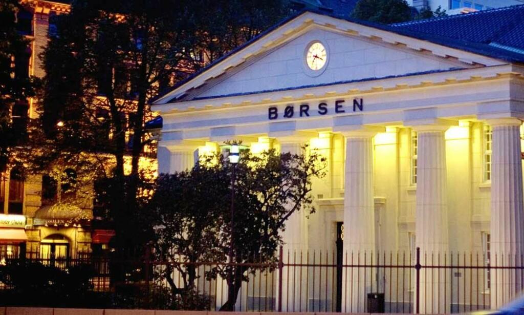SKATTELAGG:  1,5 prosent skatt på finanstransaksjoner på Oslo Børs, er blant forslagene fra Attac for å styrke kontrollen på finansmarkedet. Foto: Torbjørn Grønning/Dagbladet