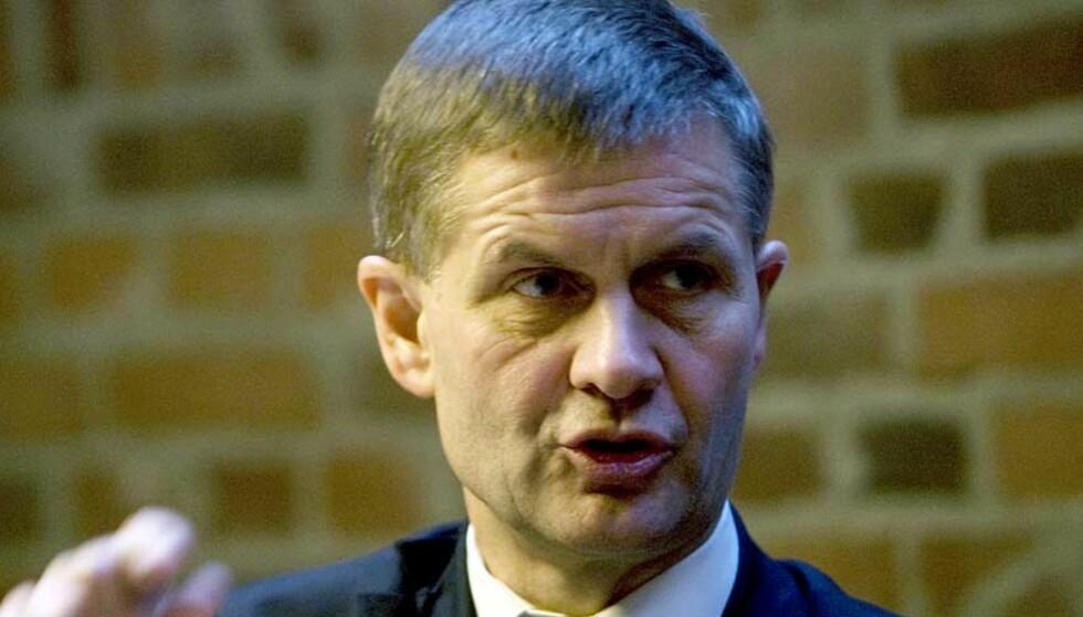 <strong><b> HÅPER DET IKKE BLIR LANGVARIG:</strong></b> Miljøvernminister Erik Solheim. Foto: SCANPIX