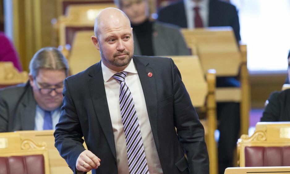 - SKAL IKKE LØNNE SEG: - Det skal ikke lønne seg å begå grove integritetskrenkelser i fellesskap med andre, sier Anundsen. Foto: Terje Bendiksby / NTB scanpix