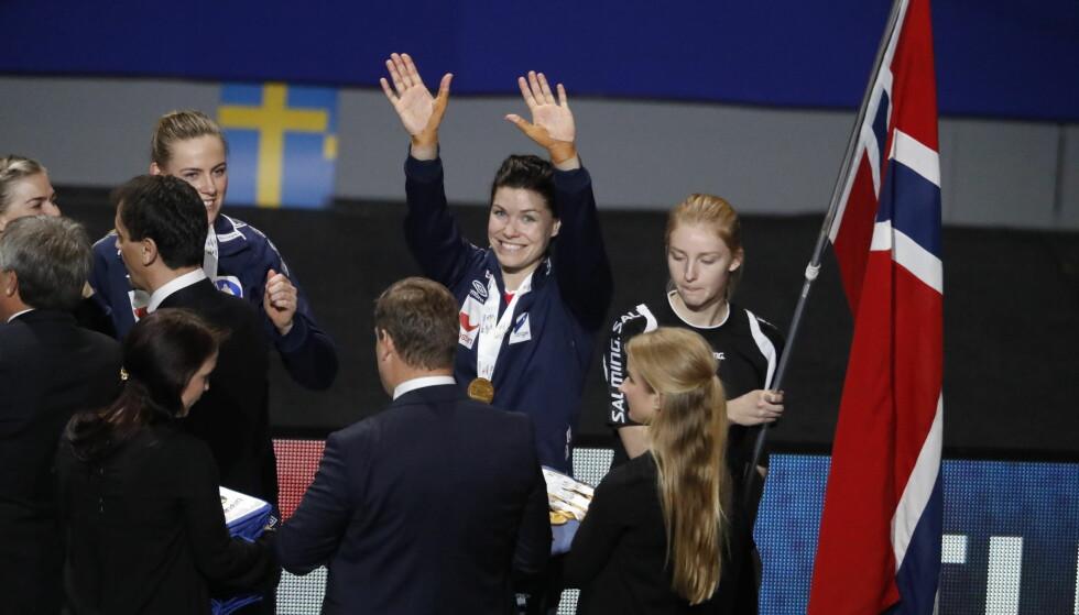 GJORDE JOBBEN: Både Kari Grimsbø og Silje Solberg får skryt av statsminister Erna Solberg. Foto: Bjørn Langsem / DAGBLADET