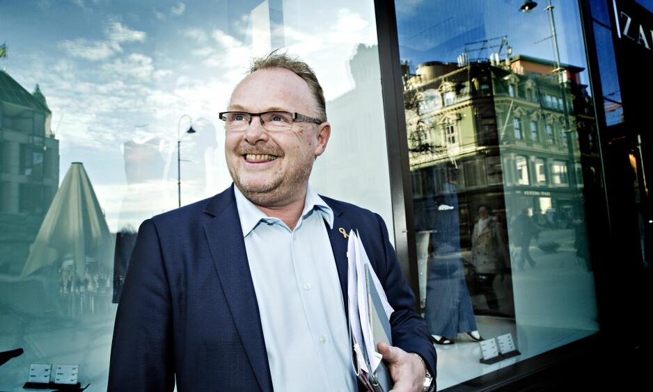 OPTIMISTISK: Per Sandberg mener Frp kommer styrket ut av regjeringsdeltakelsen. Foto: Nina Hansen / Dagbladet