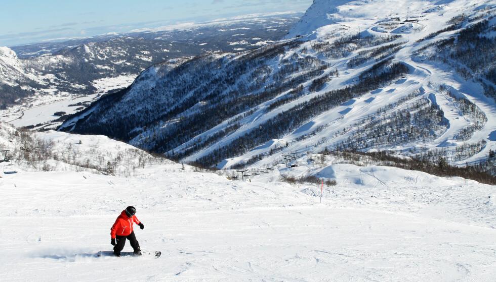 VINNEREN: Komplett: Hemsedal i Buskerud er Norges beste skisted, med et tilbud både i og utenfor bakken til absolutt alle. Foto: Ida A. Danielsen