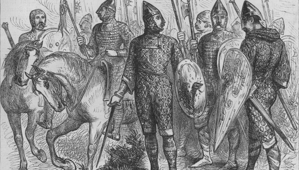 VIKINGENE VAR FRAMSYNTE: I følge ganske sikre kilder sa de norske vikingene i 1066, dagen før slaget ved Hastings, nøyaktig det samme som Carl I. Hagen sier i dag: Fjellene er ikke menneskeskapte. Foto: NTB Scanpix
