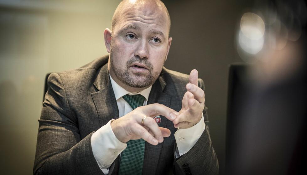 VIL HA 40 ÅR: Justisminister Anders Anundsen vil gi domstolene mulighet til gi 40 års fengsel. Foto: Lars Eivind Bones / Dagbladet
