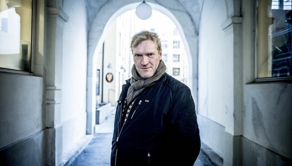 TV-AKTUELL: Sven Nordin har hovedrollen i dramaserien «Valkyrien», som kommer på NRK1 første nyttårsdag. Foto: Thomas Rasmus Skaug / Dagbladet
