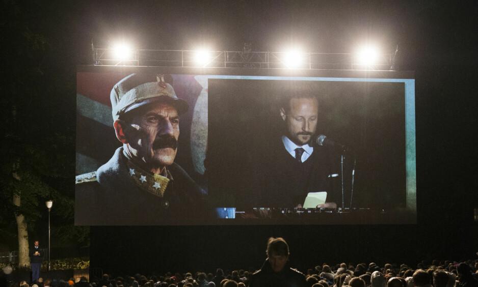 POPULÆR: Førpremiere på «Kongens Nei», en av de mest sette kinofilmene i Norge i 2016. Foto: Berit Roald / NTB scanpix