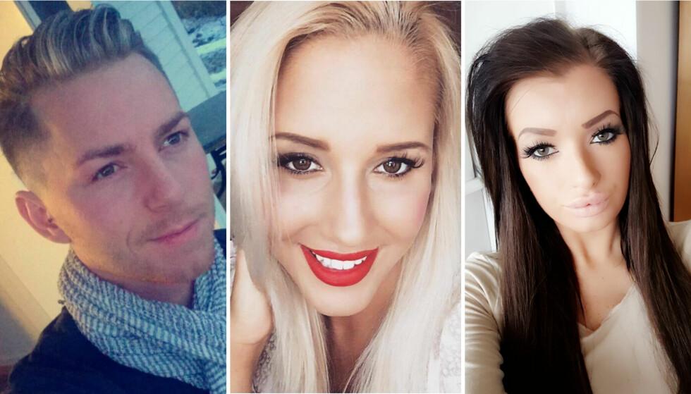 REALITYMINNER: Kristian René Johansen, Aurora Gude og Iselin Michelsen har ikke glemt sin tid i TV3s realityserie. Foto: Privat