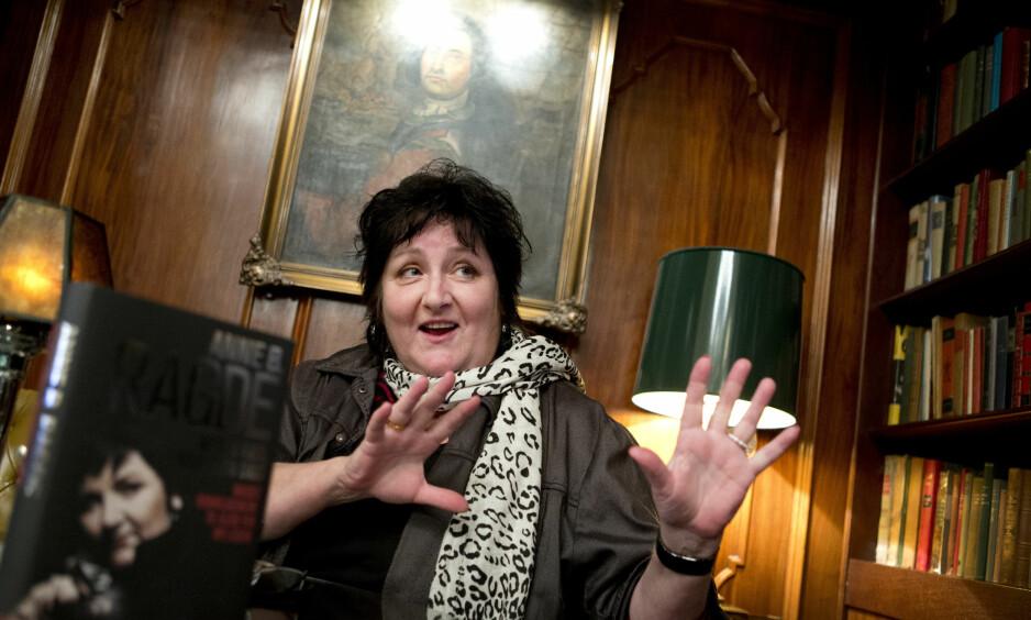 LEVENDE FORTELLER: Både muntlig og skriftlig er Anne B. Ragde en formidabel forteller. Nå har hun gitt Æsops fabler et nytt liv. Foto: NTB Scanpix