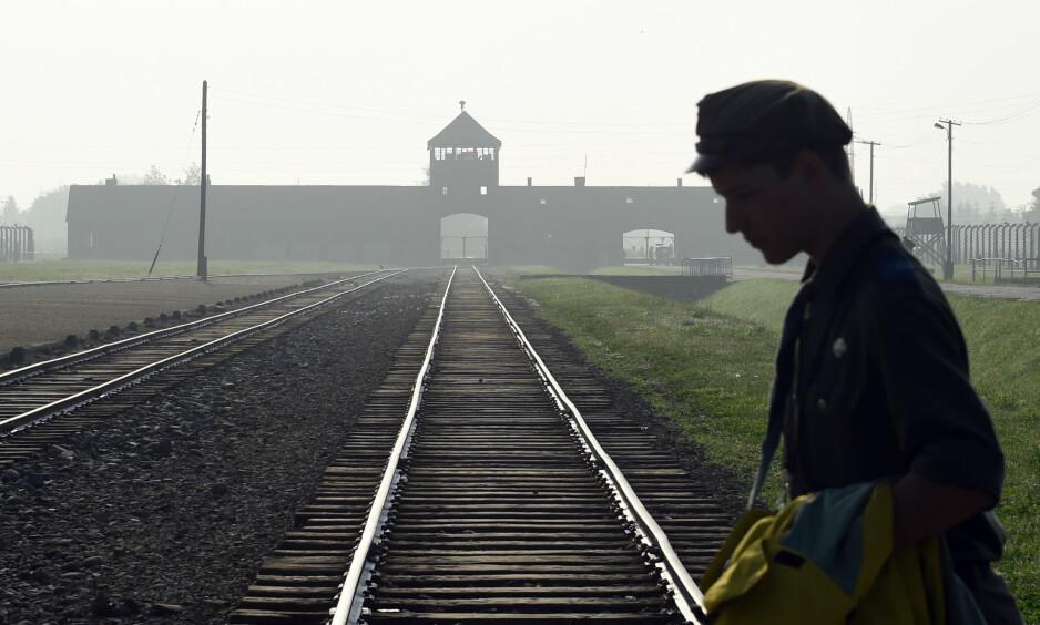 SKREKKLEIR: I Auschwitz-Birkenau ble store mengder mennesker drept. Foto: AP Photo/Alik Keplicz/NTB Scanpix