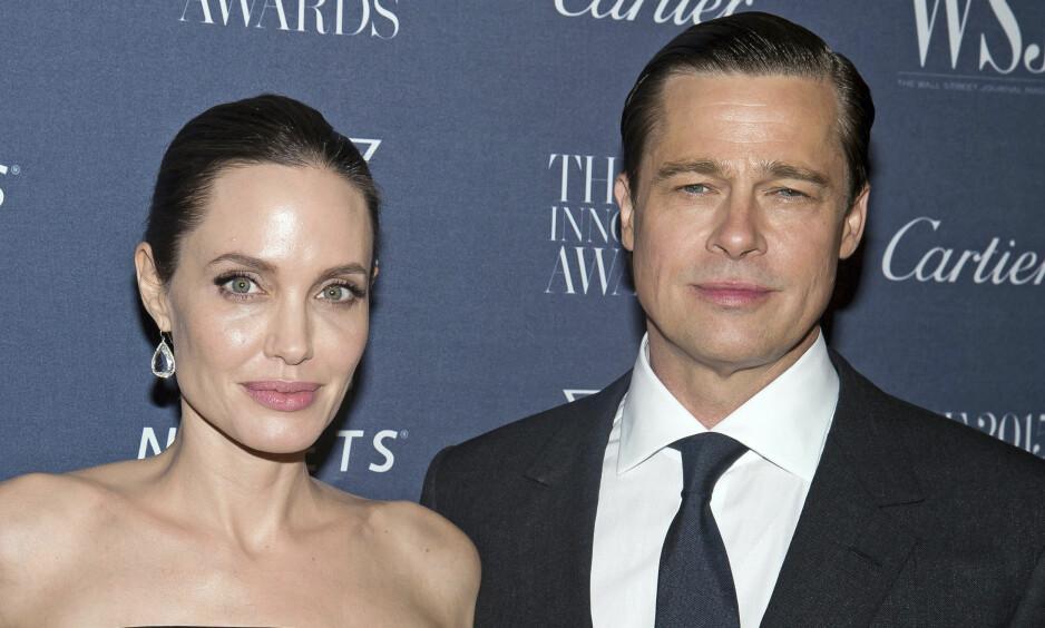 <strong>OFFENTLIG SKITTENTØYVASK:</strong> Det tidligere skuespillerparet Angelina Jolie og Brad Pitt har vært ordknappe hva gjelder årsaken til bruddet. I nye rettsdokumenter går duoen imidlertid hardt ut mot hverandre. Foto: NTB Scanpix