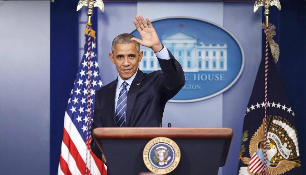 SISTE KLIMATILTAK: Barack Obama verner arktiske havområder.