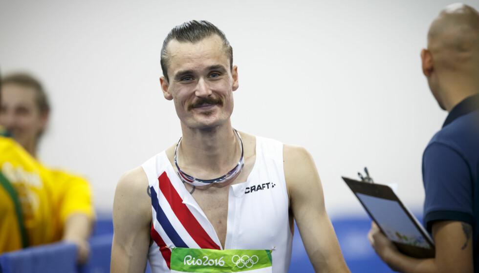 FORNØYD: Henrik Ingebrigtsen. Foto: NTB Scanpix