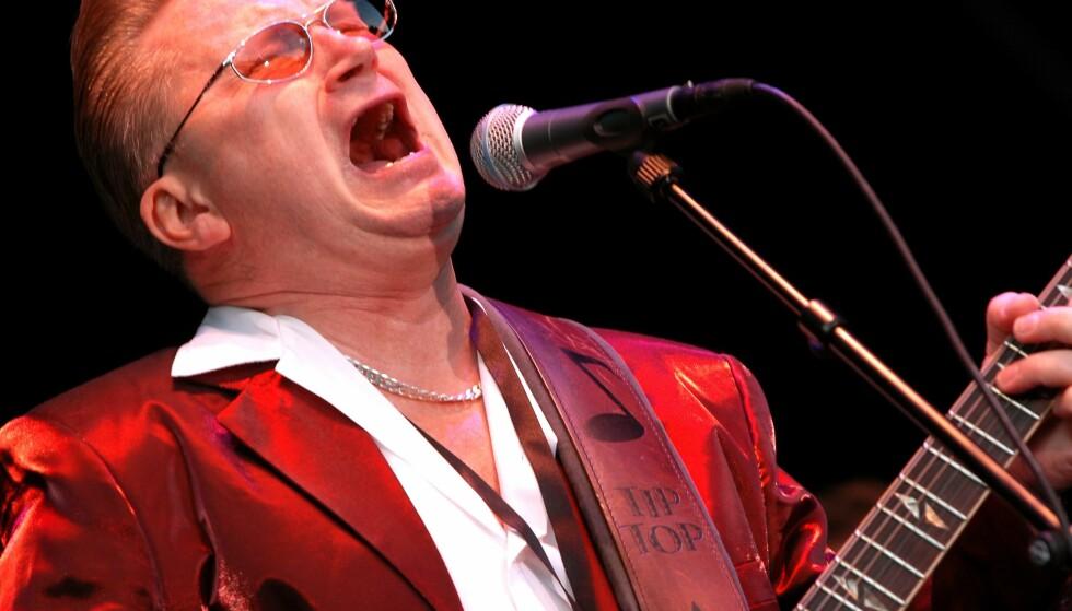 SOVNET INN: Sven Zetterberg har gått bort. Her er han under Stockholm Jazz Festival i 2004. Foto: Scanpix
