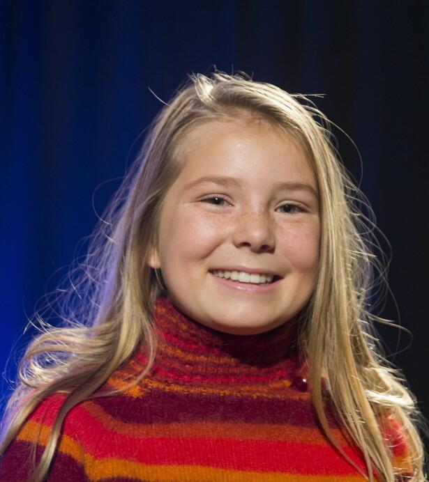 <strong>SELMA:</strong> Siri Skjeggedal (11) som spiller  Selma i årets julekalender fra NRK. Foto: Berit Roald / NTB scanpix