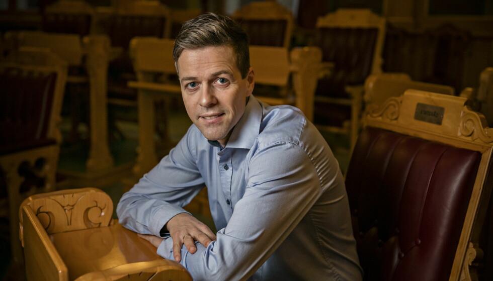 POSISJONERT: Knut Arild Hareide går inn i valgåret 2017 godt posisjonert, men med lav oppslutning og få saker. Foto: Jørn H Moen / Dagbladet