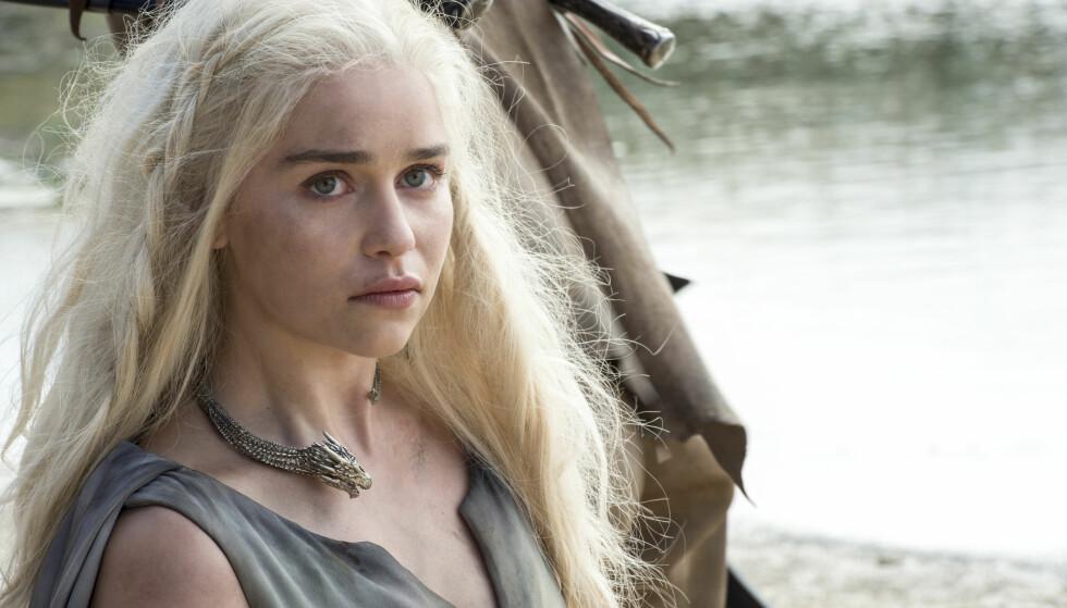 Daenerys Targaryen (Emilia Clarke) i «Game of Thrones».  Foto: HBO NORDIC