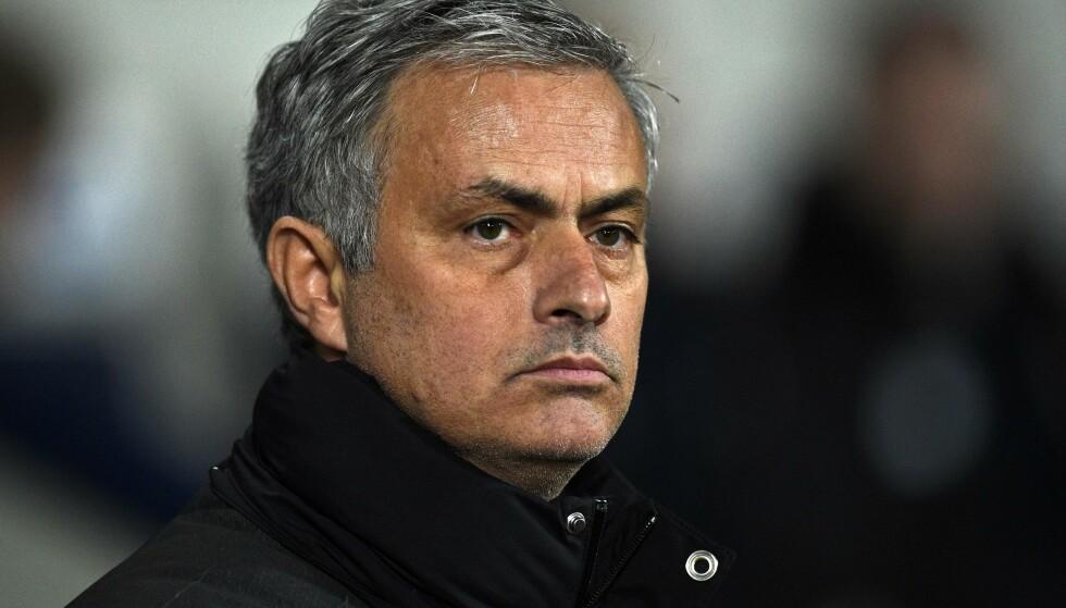 FORNØYD: José Mourinho føler seg hjemme i Manchester. Foto: Scanpix